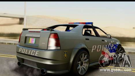 EFLC TBoGT Albany Police Stinger SA Mobile for GTA San Andreas left view