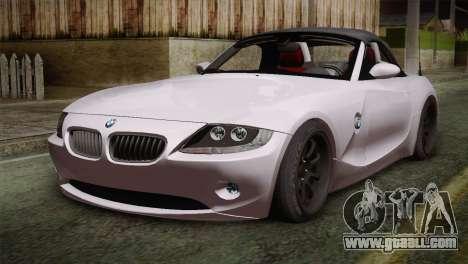BMW Z4 V10 IVF for GTA San Andreas
