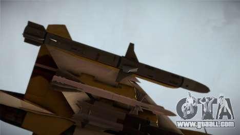 SU-37 Terminator for GTA San Andreas right view