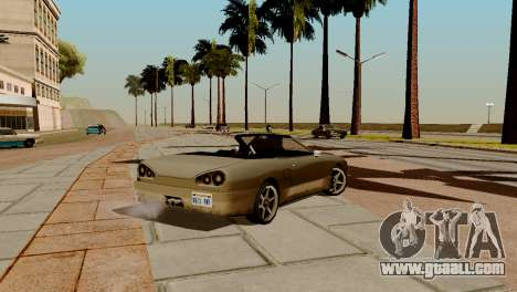 DLC garage from GTA online brand new transport for GTA San Andreas