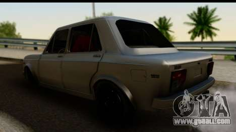 Fiat 128 for GTA San Andreas left view