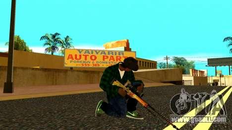 Weapon Pack for GTA San Andreas fifth screenshot