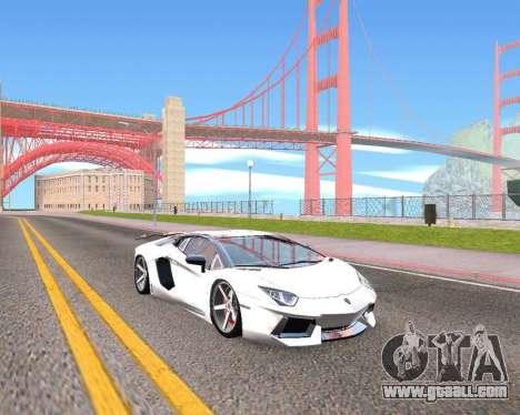 HDX ENB Series for GTA San Andreas