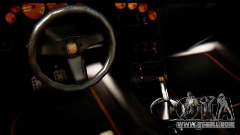 GTA 5 Pegassi Zentorno v2 for GTA San Andreas back view