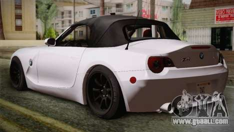 BMW Z4 V10 IVF for GTA San Andreas