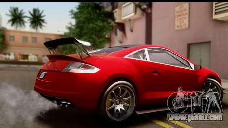 GTA 5 Maibatsu Penumbra IVF for GTA San Andreas left view