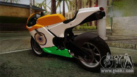 GTA 5 Bati Indian for GTA San Andreas left view