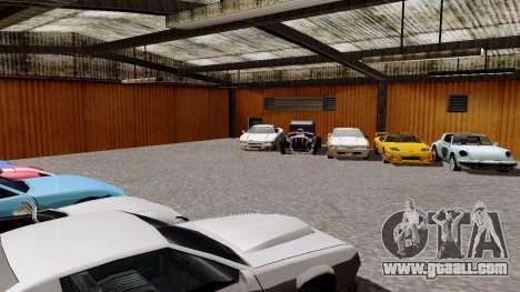 DLC garage from GTA online brand new transport for GTA San Andreas third screenshot