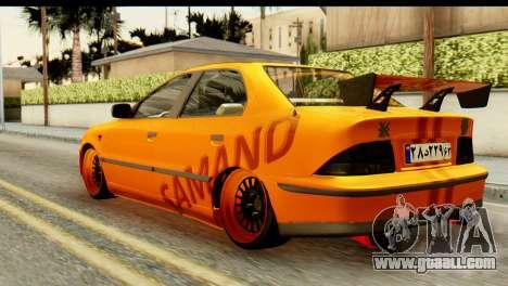 Ikco Samand Tuning for GTA San Andreas