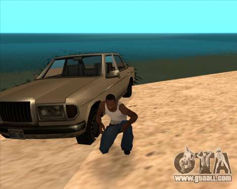 Realistic Water ENB for GTA San Andreas