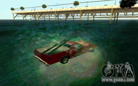 Cars Water for GTA San Andreas third screenshot