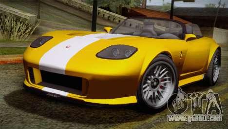 GTA 5 Invetero Coquette SA Mobile for GTA San Andreas left view