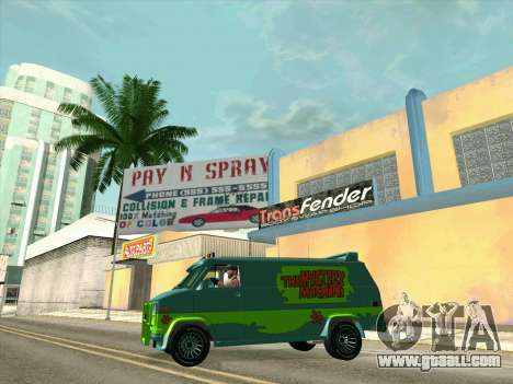 GMC The A-Team Van for GTA San Andreas