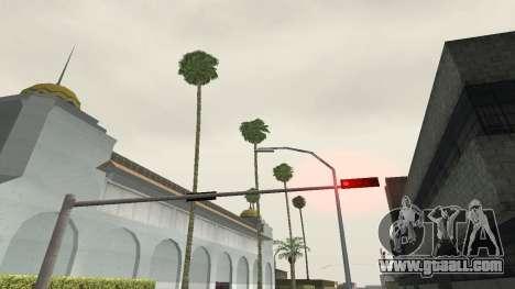 Roads and vegetation Los Santos for GTA San Andreas