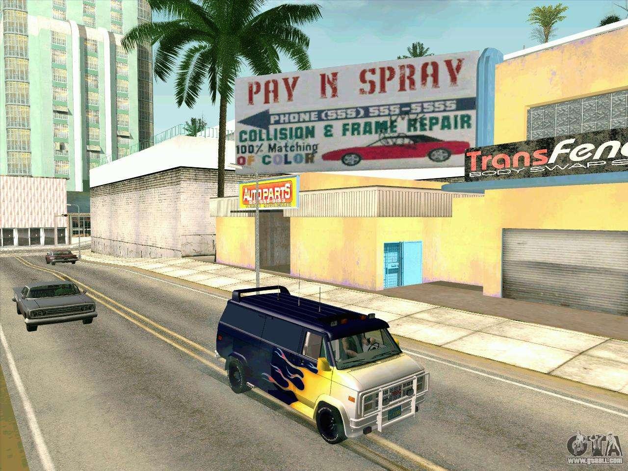 GMC The A Team Van For GTA San Andreas