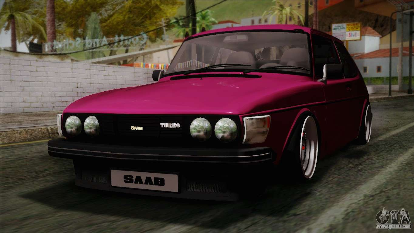 saab 99 turbo stance for gta san andreas. Black Bedroom Furniture Sets. Home Design Ideas