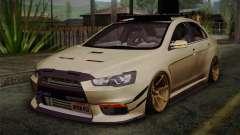 Mitsubishi Lancer Evolution X for GTA San Andreas
