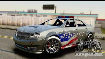 EFLC TBoGT Albany Police Stinger SA Mobile for GTA San Andreas