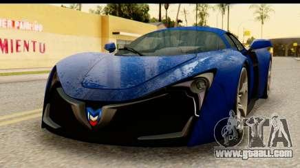 Marussia B2 for GTA San Andreas
