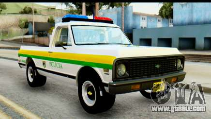 Chevrolet C10 Patrulla for GTA San Andreas