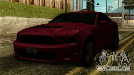 Ford Shelby GT500 for GTA San Andreas