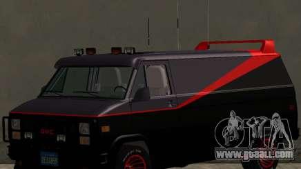 GMC The A-Team Van for GTA San Andreas