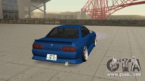 Nissan Skyline R32 Sedan for GTA San Andreas left view