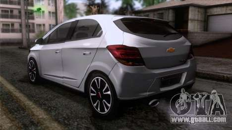 Chevrolet Onix for GTA San Andreas left view