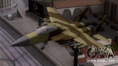 F-15C Camouflage Pack for GTA San Andreas