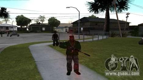 M4 Cyrex из CS:GO for GTA San Andreas second screenshot