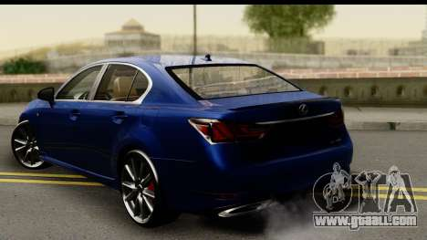 Lexus GS350 for GTA San Andreas left view