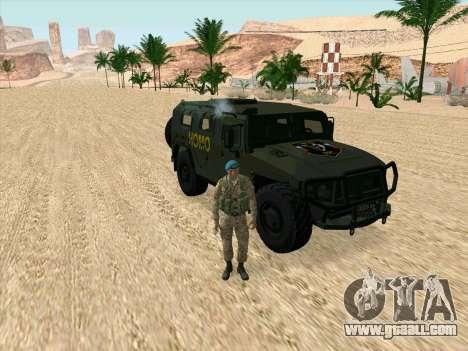 GAZ 2975 for GTA San Andreas right view