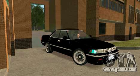 Toyota Mark II 2.5GT TwinTurbo (JZX81) for GTA San Andreas