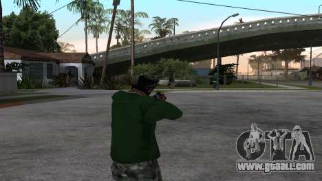 M4 Cyrex из CS:GO for GTA San Andreas third screenshot