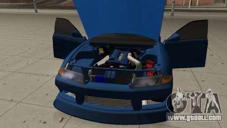 Nissan Skyline R32 Sedan for GTA San Andreas inner view