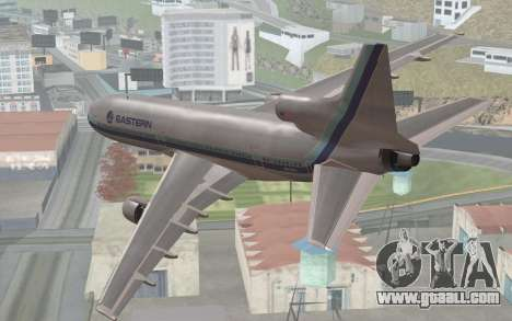 Lookheed L-1011 Eastern Als for GTA San Andreas left view