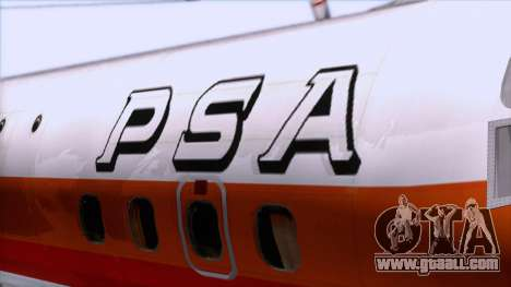 L-188 Electra PSA for GTA San Andreas back view