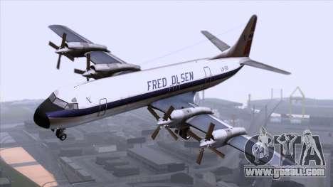 L-188 Electra Fled Olsen for GTA San Andreas
