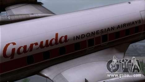 L-188 Electra Garuda Indonesia for GTA San Andreas right view