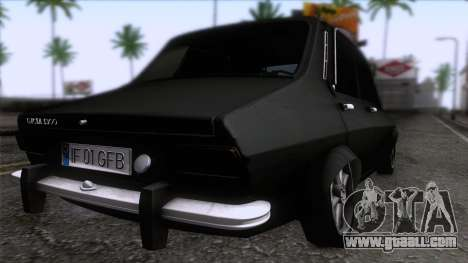 Dacia 1300 GFB Stanced for GTA San Andreas left view