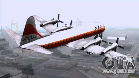 L-188 Electra PSA for GTA San Andreas left view