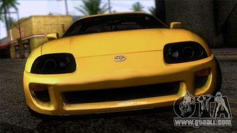 Toyota Supra S-Spec (JZA80) 1993 IVF АПП for GTA San Andreas