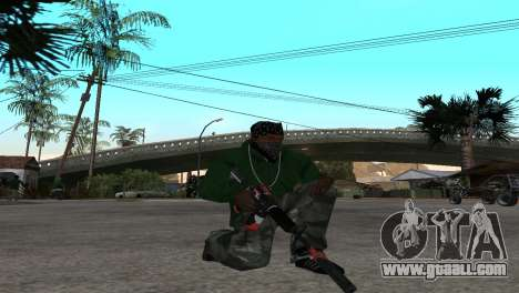 M4 Cyrex из CS:GO for GTA San Andreas