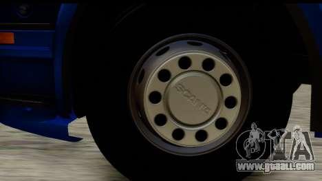 Scania G 4х6 for GTA San Andreas back view
