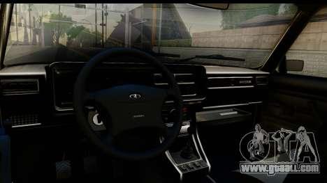VAZ 21074 for GTA San Andreas inner view