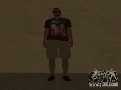 ALEX&GRIN Skin for GTA San Andreas