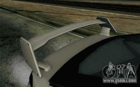 GTA 5 Karin Kuruma v2 Armored SA Mobile for GTA San Andreas right view