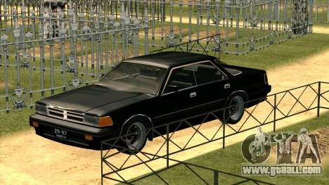 Nissan Gloria Zenki (Y30) for GTA San Andreas left view