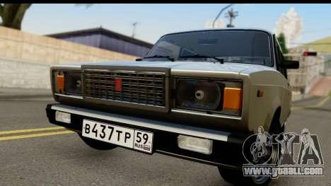 VAZ 21074 for GTA San Andreas back left view