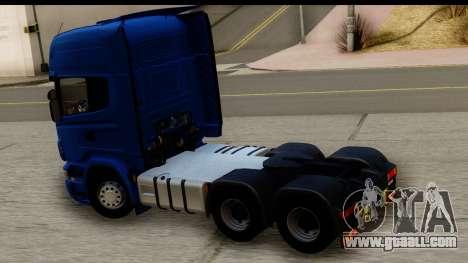 Scania G 4х6 for GTA San Andreas right view